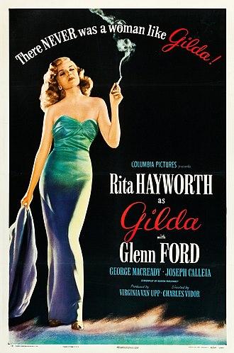 Gilda film poster 1946